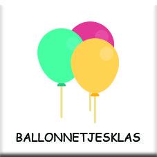 ballonnetjesklas