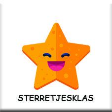 sterretjesklas