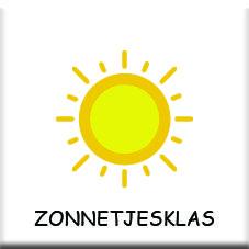 zonnetjesklas